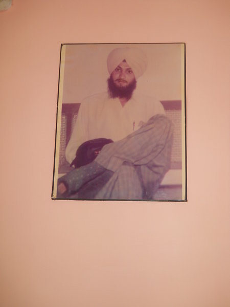 Photo of Dilraj Singh, victim of extrajudicial execution on February 01, 1993, in Tarn Taran,  by Criminal Investigation Agency, in Verowal, by Punjab Police