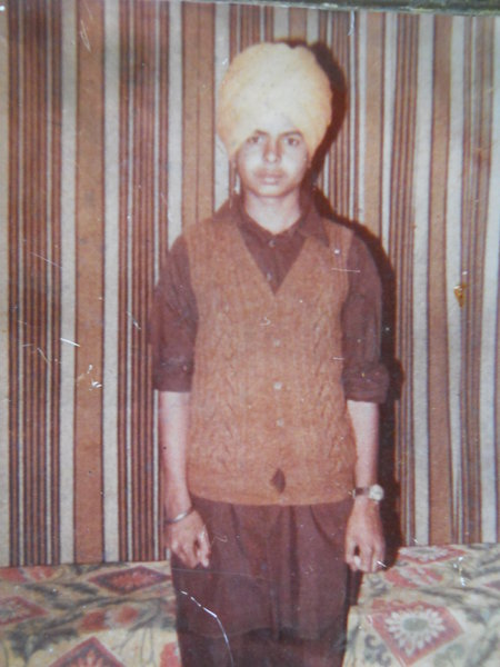 Photo of Hardev Singh, victim of extrajudicial execution on October 13, 1991, in Mehta,  by Punjab Police; Central Reserve Police Force, in Mehta, Amritsar, by Punjab Police