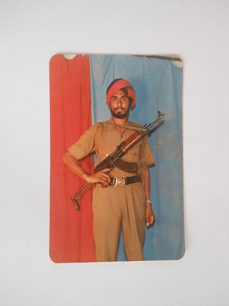 Photo of Ranjit Singh Khera, victim of extrajudicial execution between February 3, 1993 and February 5,  1993, in Khadur Sahib, Tarn Taran, by Punjab Police