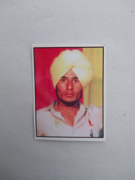 Photo of Harpal Singh,  disappeared between October 1, 1990 and December 30,  1992 by Punjab Police