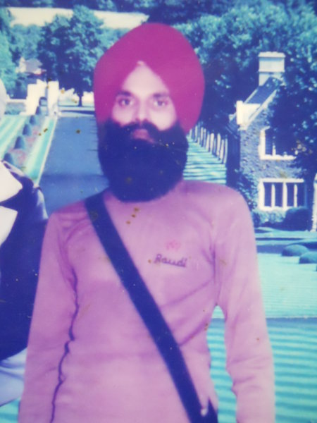 Photo of Bhagwan Singh, victim of extrajudicial execution between October 17, 1988 and October 18,  1988, in Jalandhar, by Punjab Police