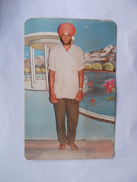 Photo of Surjit Singh, victim of extrajudicial execution between August 1, 1992 and September 30,  1992Punjab Police