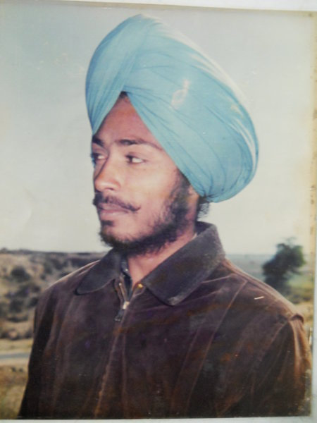 Photo of Baldev Singh, victim of extrajudicial execution on July 24, 1988Punjab Police