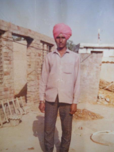 Photo of Chanan Singh, victim of extrajudicial execution between June 1, 1990 and June 30,  1990, in Tarn Taran, by Punjab Police