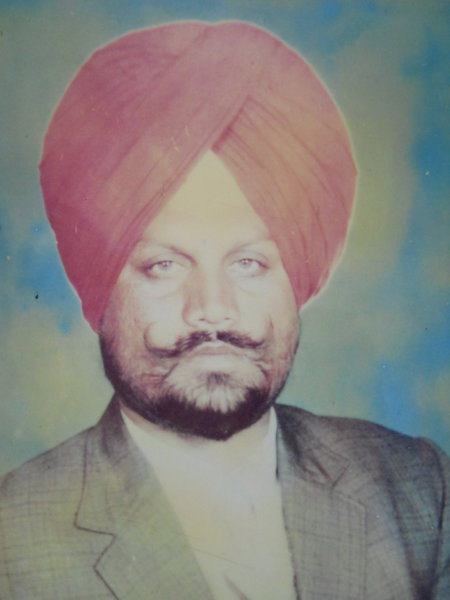 Photo of Gurmel Singh, victim of extrajudicial execution between December 15, 1992 and December 20,  1992, in Tarn Taran, by Punjab Police