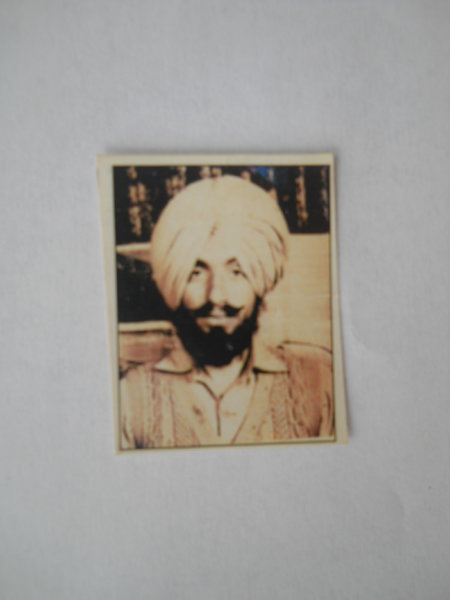 Photo of Baljit Singh,  disappeared on August 07, 1991, in Jhabal Kalan,  by Punjab Police