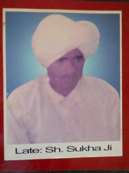 Photo of Sukhdev Singh Sansi, victim of extrajudicial execution on December 13, 1993, in Tarn Taran, by Punjab Police