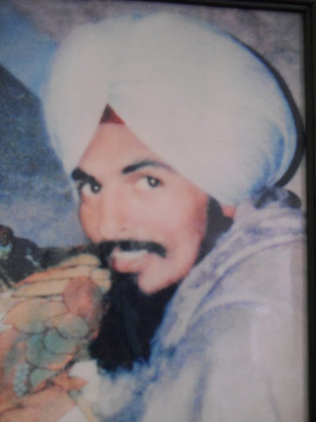 Photo of Harjinder Singh, victim of extrajudicial execution on May 21, 1987, in Majitha, by Punjab Police