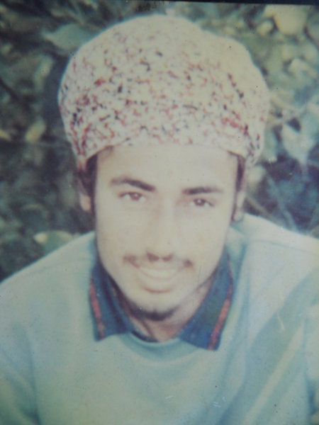Photo of Harbans Singh, victim of extrajudicial execution between February 13, 1991 and March 13,  1991, in Dhariwal, by Punjab Police
