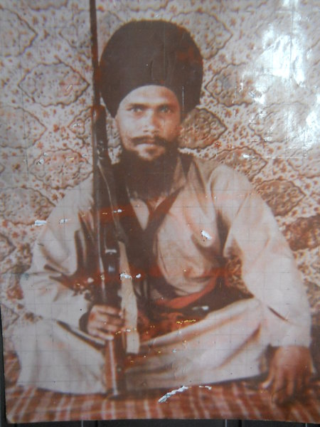 Photo of Gyan Singh, victim of extrajudicial execution on November 24, 1987 by Punjab Police; Central Reserve Police ForcePunjab Police; Central Reserve Police Force