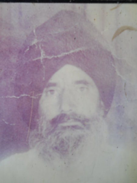 Photo of Jagtar Singh, victim of extrajudicial execution on December 28, 1991Army