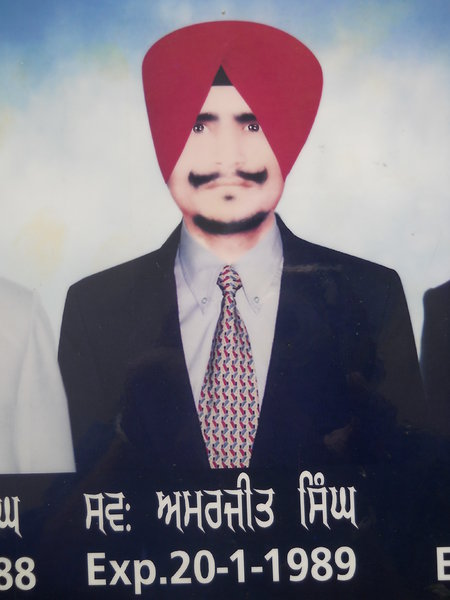 Photo of Amarjit Singh, victim of extrajudicial execution on January 20, 1989Punjab Police; Central Reserve Police Force