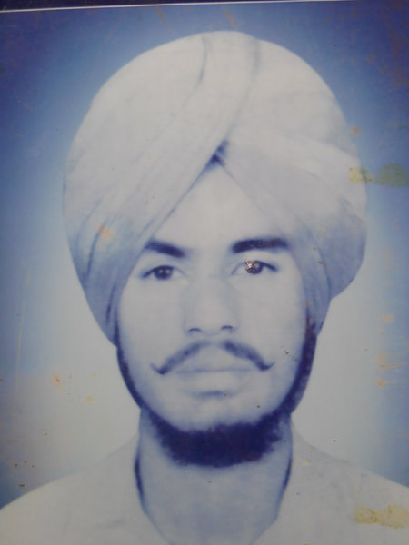 Photo of Gurmilap Singh, victim of extrajudicial execution on January 06, 1990Central Reserve Police Force