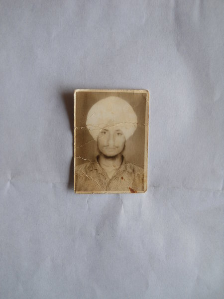 Photo of Resham Singh, victim of extrajudicial execution on September 11, 1992, in Valtoha, by Punjab Police