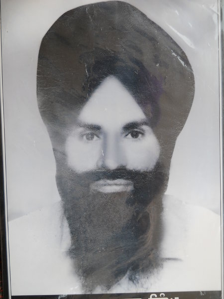 Photo of Mukhtiar Singh, victim of extrajudicial execution on February 18, 1993, in Kairon, by Punjab Police