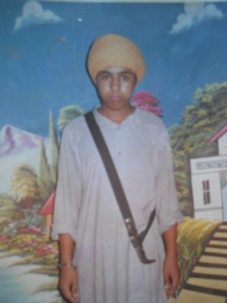 Photo of Ranga Singh, victim of extrajudicial execution between May 19, 1993 and May 23,  1993, in Tarn Taran, by Punjab Police