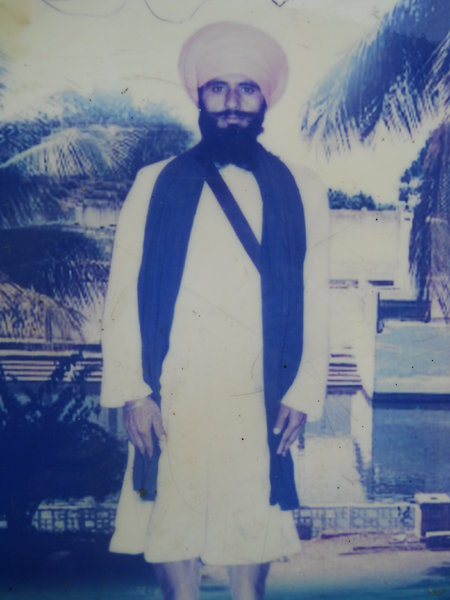 Photo of Lakha Singh, victim of extrajudicial execution on November 07, 1993, in Jhabal Kalan, by Punjab Police
