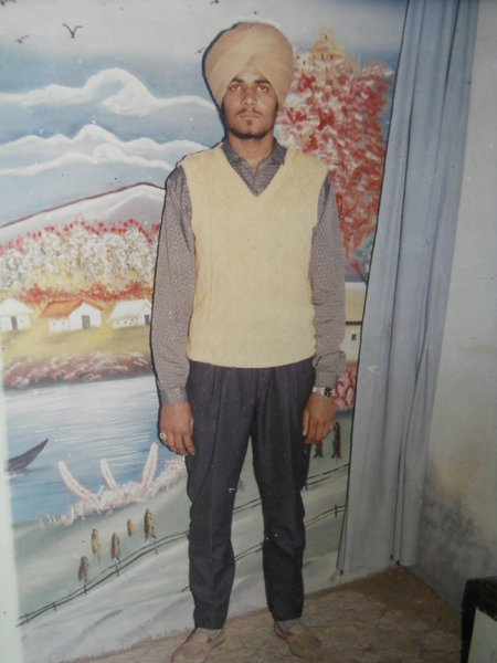 Photo of Mangal Singh, victim of extrajudicial execution on July 19, 1991, in Chheharta Sahib,  by Punjab Police; Central Reserve Police Force, in Chheharta Sahib, by Punjab Police
