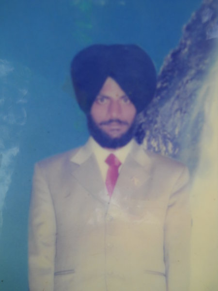 Photo of Jagjit Singh, victim of extrajudicial execution on June 11, 1989, in Gaggo Mahal CRPF Camp,  by Central Reserve Police Force, in Ramdas, by Punjab Police