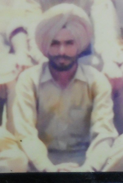 Photo of Sher Singh, victim of extrajudicial execution between July 8, 1993 and July 10,  1993, in Mulepur, by Punjab Police