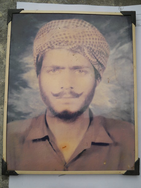 Photo of Darshan Singh, victim of extrajudicial execution on February 08, 1991, in Nandpur, by Punjab Police; Border Security Force
