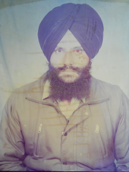 Photo of Jaspal Singh,  disappeared on February 18, 1992, in Budhlada, Boha,  by Punjab Police; Central Reserve Police Force