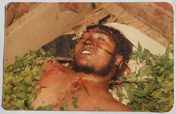 Photo of Balwinder Singh, victim of extrajudicial execution on May 02, 1991, in Bassi Pathana, by Punjab Police
