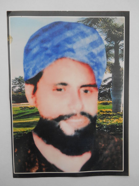 Photo of Daljeet Singh, victim of extrajudicial execution on November 14, 1992, in Kharar, by Punjab Police
