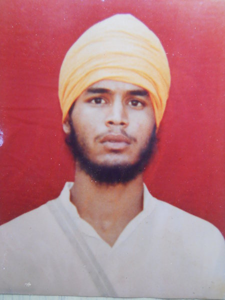 Photo of Mejor Singh, victim of extrajudicial execution on August 05, 1992, in Patiala, by Punjab Police