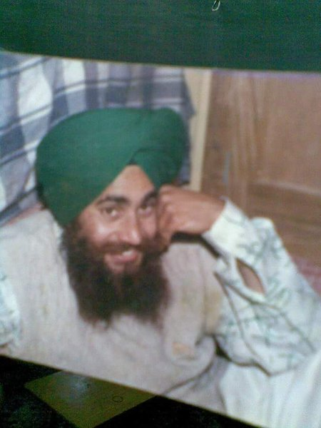 Photo of Ram Singh, victim of extrajudicial execution between August 1, 1992 and August 20,  1992, in Bassi Pathana, by Punjab Police