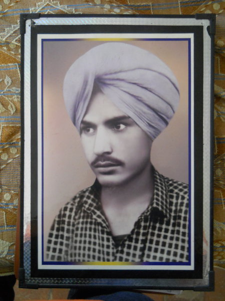 Photo of Kulwant Singh, victim of extrajudicial execution on April 6, 1992, in Moga, by Punjab Police
