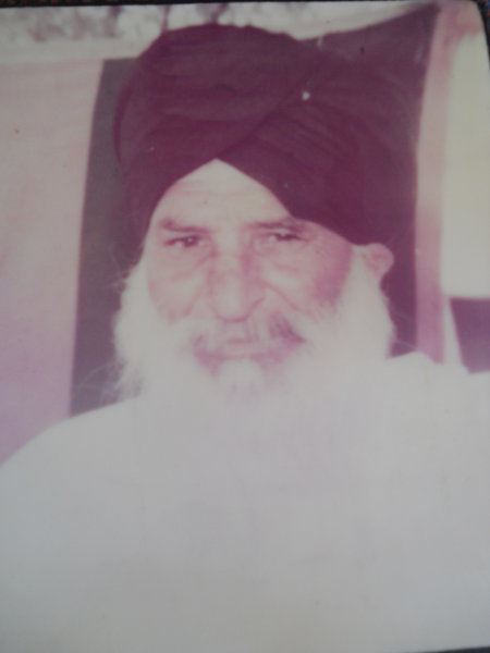 Photo of Hardeep Singh, victim of extrajudicial execution on May 18, 1993, in Sadiq, Faridkot, by Punjab Police
