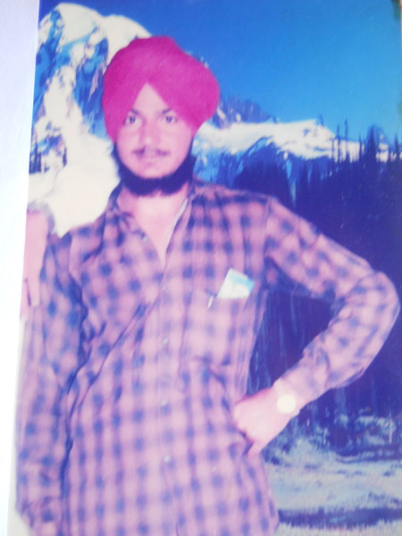 Photo of Gurlal Singh, victim of extrajudicial execution between September 15, 1993 and September 17,  1993, in Firozpur Jail, by Punjab Police