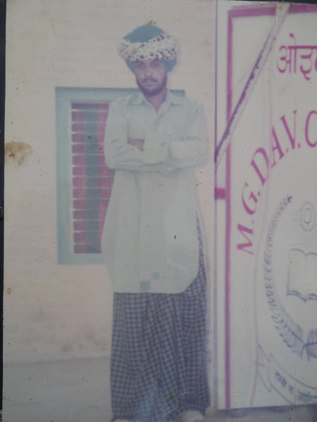 Photo of Pal Singh, victim of extrajudicial execution on September 08, 1989, in Guru Har Sahai, by Punjab Police; Black cat