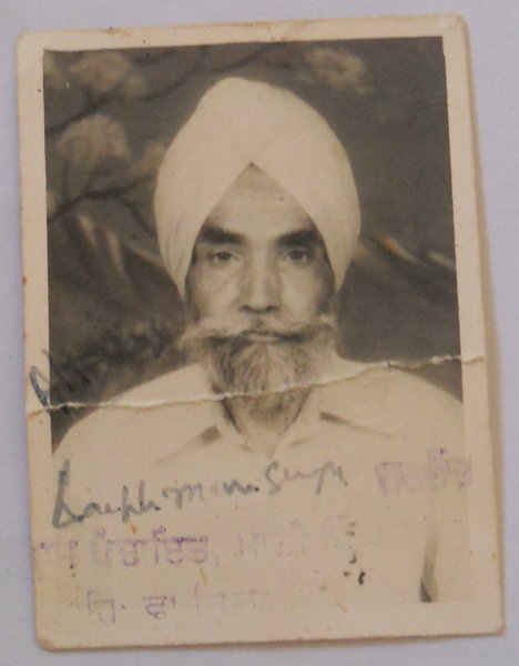 Photo of Gurmej Singh, victim of extrajudicial execution on May 6, 1987, in Faridkot CIA Staff, Sadiq, by Punjab Police
