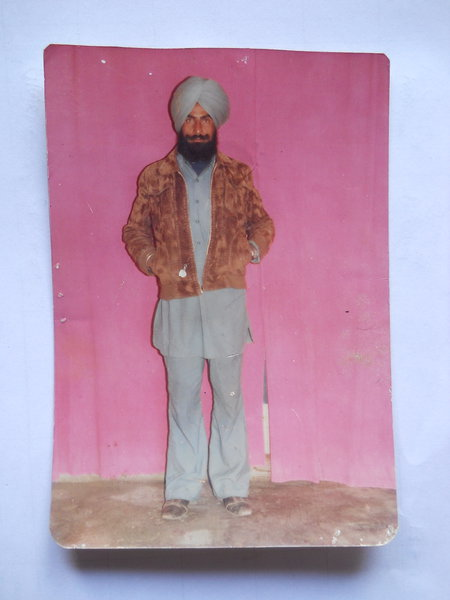 Photo of Mandar Singh, victim of extrajudicial execution on July 13, 1991, in Bathinda, by Punjab Police