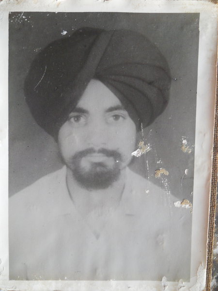 Photo of Manjeet Singh,  disappeared on April 15, 1990, in Moga,  by Punjab Police