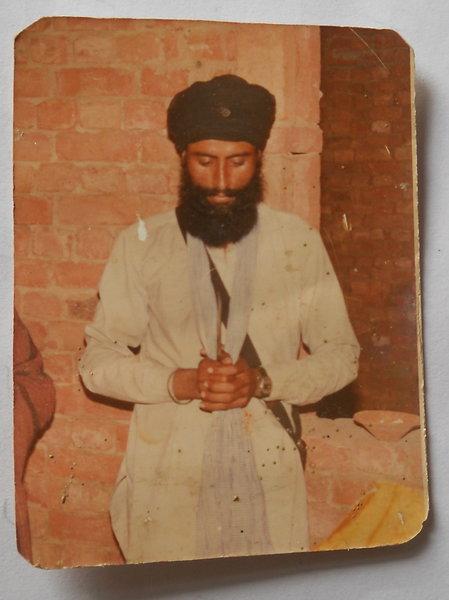 Photo of Gurcharan Singh, victim of extrajudicial execution on November 07, 1991, in Muktsar, Bathinda, Jalandhar, Mehta, Amritsar, Moga, Firozpur, by Punjab Police