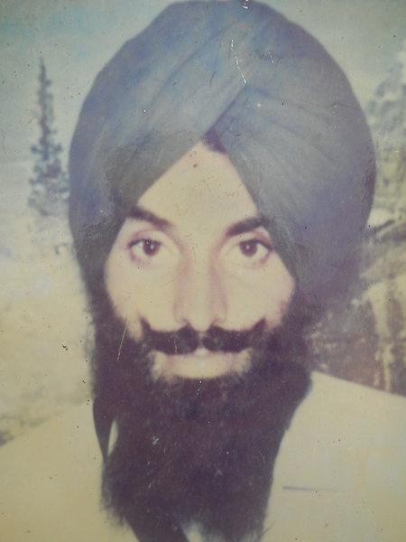 Photo of Harbhajan Singh, victim of extrajudicial execution on July 10, 1992, in Dehlon, by Punjab Police