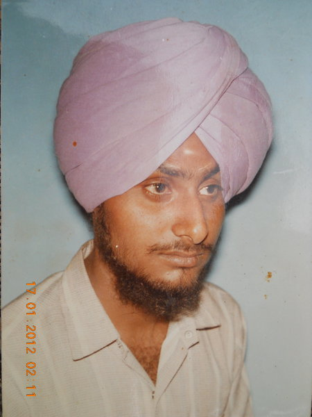 Photo of Sukhdev Singh, victim of extrajudicial execution on July 23, 1991, in Firozpur, by Punjab Police