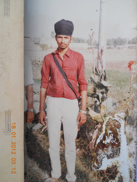 Photo of Sukhdev Singh, victim of extrajudicial execution on November 20, 1991, in Makhu, by Punjab Police
