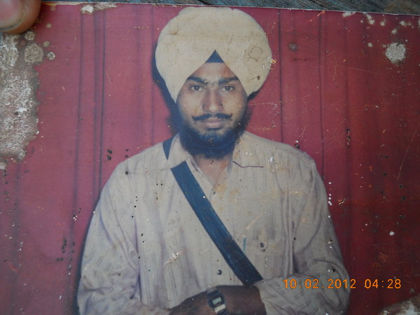 Photo of Surjit Singh, victim of extrajudicial execution on May 25, 1988, in Zira, Zira CRPF Camp,  by Central Reserve Police Force, in Fazilka, by Punjab Police