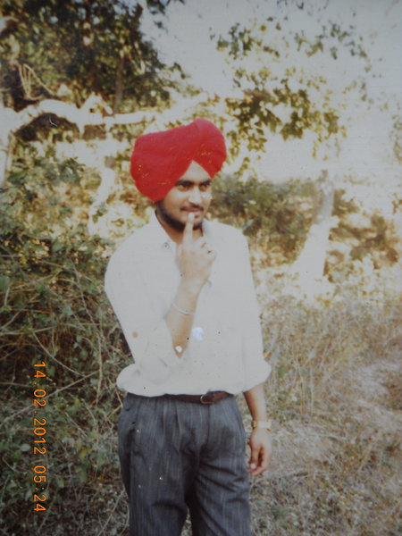 Photo of Jaspal Singh, victim of extrajudicial execution on August 15, 1990, in Dharamkot, by Punjab Police