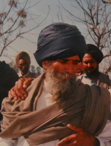 Photo of Mohan Singh, victim of extrajudicial execution between June 1, 2000 and July 31,  2000, in Mallanwala, by Punjab Police