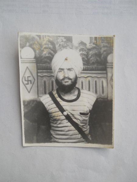 Photo of Gurdev Singh, victim of extrajudicial execution on June 13, 1987, in Mehna,  by Punjab Police; Central Reserve Police Force, in Moga, by Punjab Police