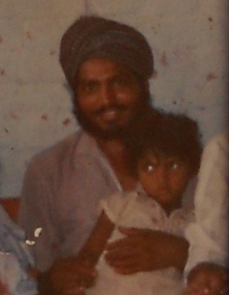 Photo of Daljinder Singh, victim of extrajudicial execution on February 13, 1993, in Makhu, by Punjab Police