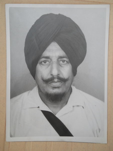 Photo of Makhan Singh, victim of extrajudicial execution on May 26, 1990, in Fazilka, by Punjab Police