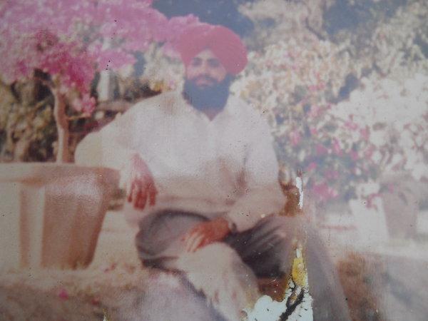Photo of Jagjit Singh, victim of extrajudicial execution between July 1, 1993 and September 1,  1993Punjab Police