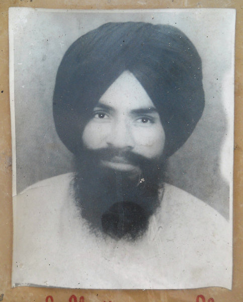 Photo of Gurdeep Singh, victim of extrajudicial execution on June 06, 1984Central Reserve Police Force