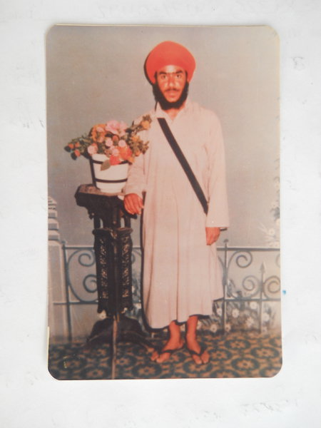 Photo of Raj Nashatar Singh, victim of extrajudicial execution on May 3, 1987, in Mallanwala, by Punjab Police